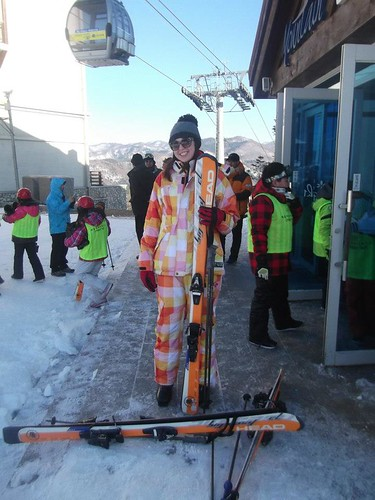If Ronald McDonald designed a ski suit...