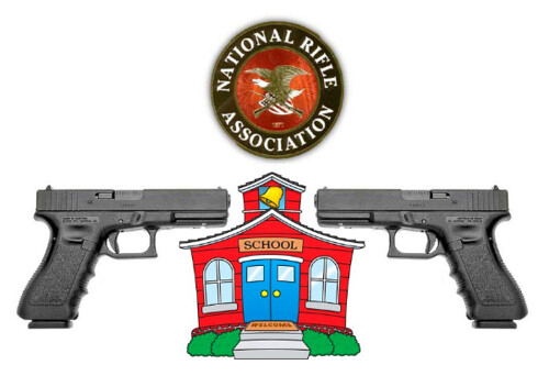 Security Firm Lobbyist Runs NRA School Gun Program