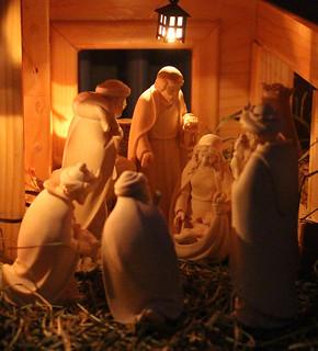 Our Christmas crib