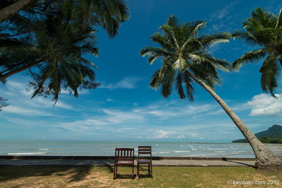 damai beach, kuching beach