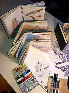 Sketchbooks 2012