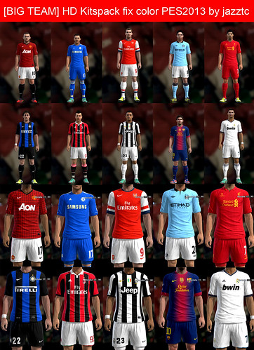 Download Kitspack PES 2013 by jazztc