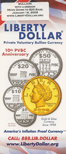 Liberty Dollar brochure 2
