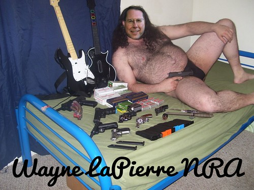 PORTRAIT: WAYNE LAPIERRE by Colonel Flick/WilliamBanzai7