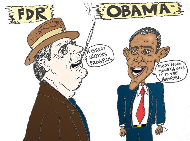 Barack Obama Cartoons