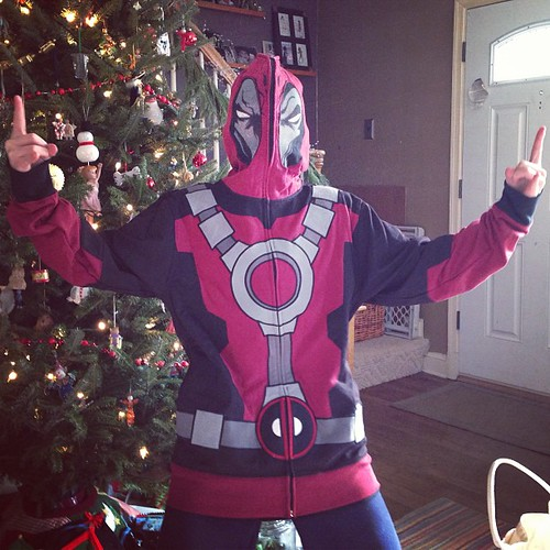 It's a Deadpool Christmas #xmas