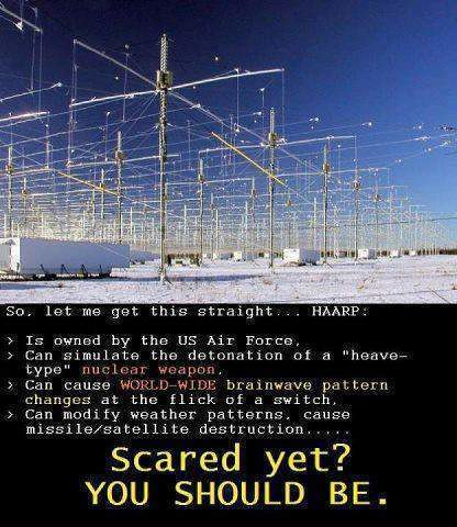 haarp machine conspiracy