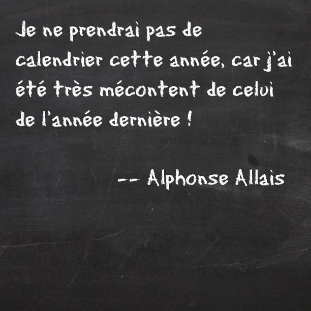 ( Alphonse #Allais )