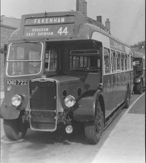 Very old King's Lynn buses (c) D.G Bell Collection