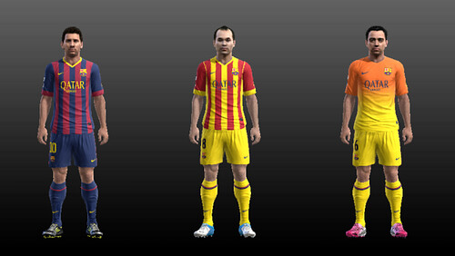 Download Kits Barcelona Musim 2013-2014