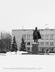 Шостка. Памятник Ленину