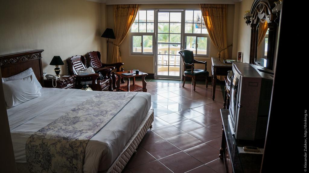 Стандартный номер отеля Boracay Garden