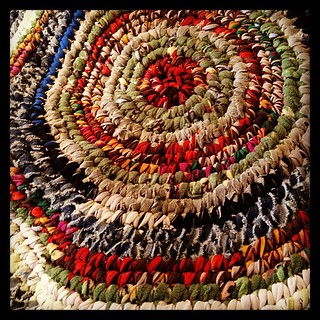 Briannes rug #upcycled #recycled