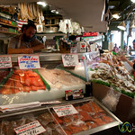 Seafood Stand at Pike Place Market - Seattle