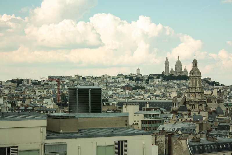 Montmartre from Printemps