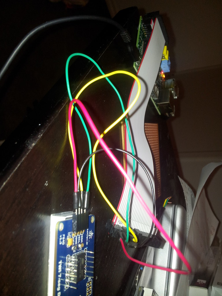 I2C device responding on all addresses - Raspberry Pi Forums