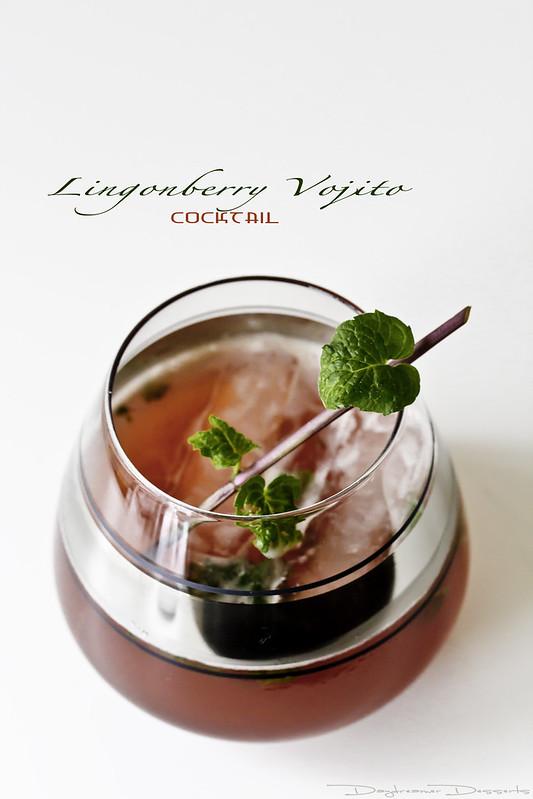 Lingonberry Vojito