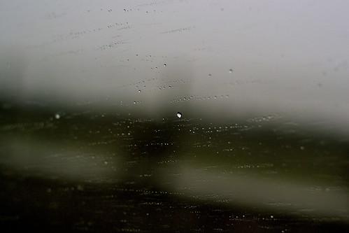 oh, the rain