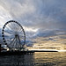 Seattle's Great Wheel by Rick Takagi