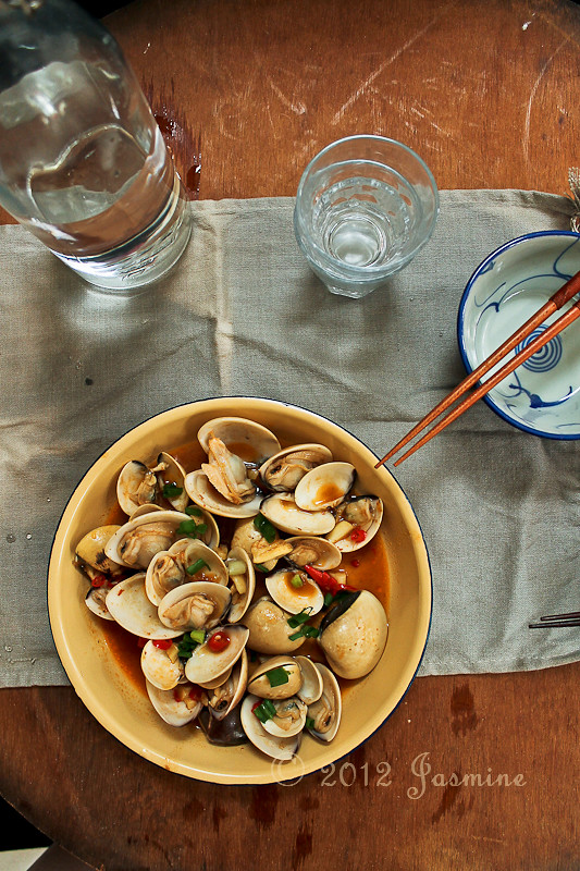 Thai Chili Clams Stir-fry
