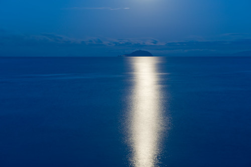 blue light sea sky nature japan night landscape photography nikon 日本 d800 夜 2470mm nikoor