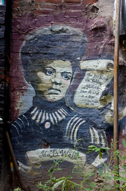 Ida B. Wells, Lower East Side Girls Club Garden