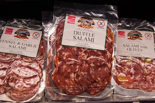 Assorted salami