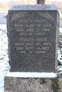 Busse, Gustav and Augusta