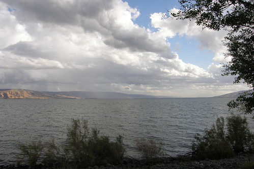 Storm Brewing on the Sea of Galilee