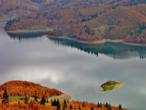 trees mountain lake nature water landscape europe greece thessaly karditsa plastiras ελλαδα plastiralake limniplastira lakeplastira θεσσαλια λιμνη πλαστηρα καρδιτσα λιμνηπλαστηρα βησσαριου vissariou