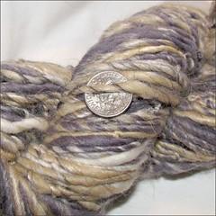 Natural Dyes Wild Card handspun, close up