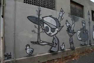 Toon Mural