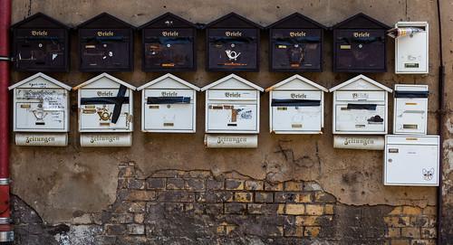 Briefkästen; copyright 2012: Georg Berg