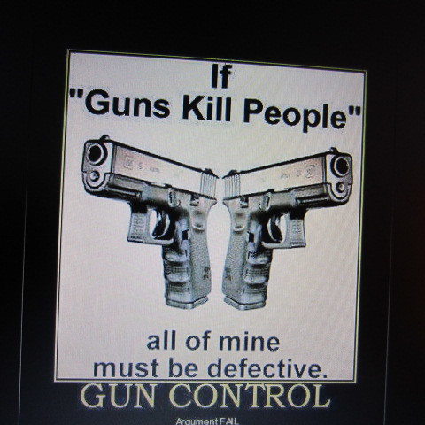 if guns kill people