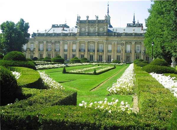 Palacio Real y jardines de San Ildefonso (Segovia)