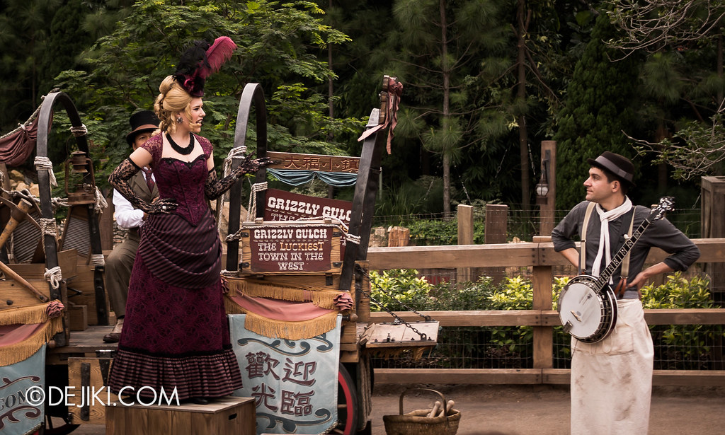 Grizzly Gulch Welcome Wagon Street Show