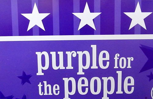 Purple for the people