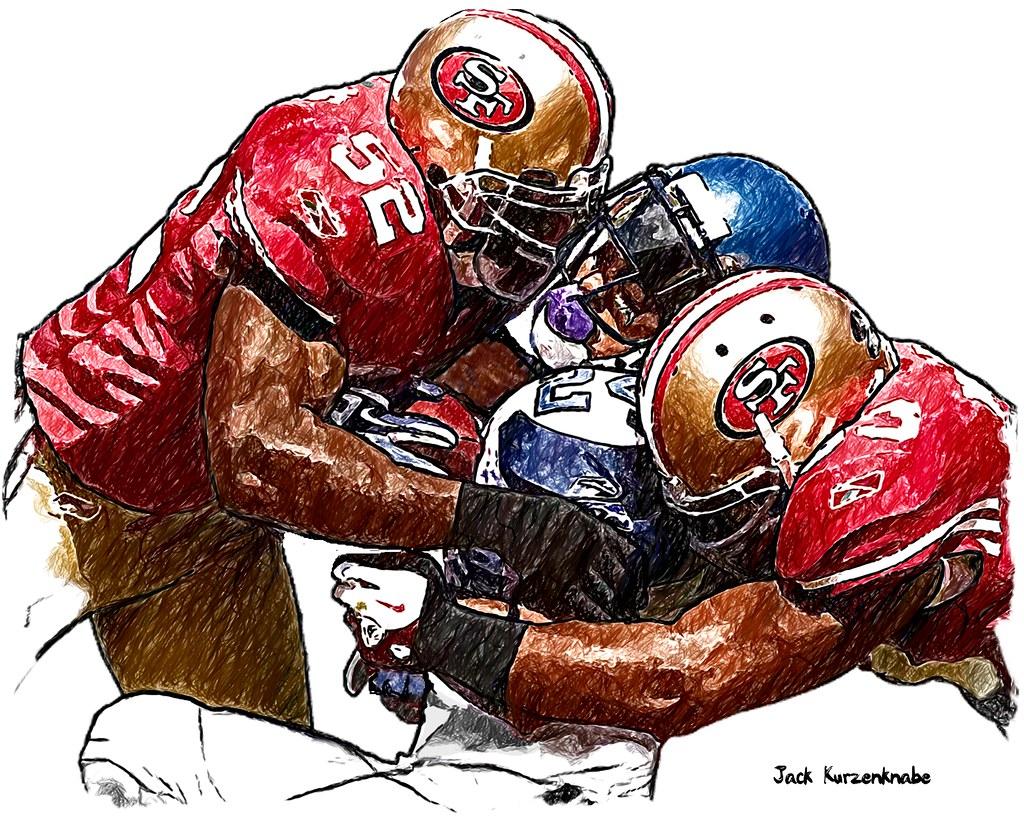 Patrick Willis And Navorro Bowman Wallpaper San Francisco 49ers Na...