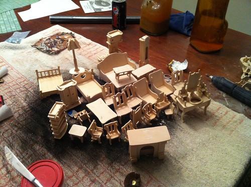 Assembled Bulsar Furniture