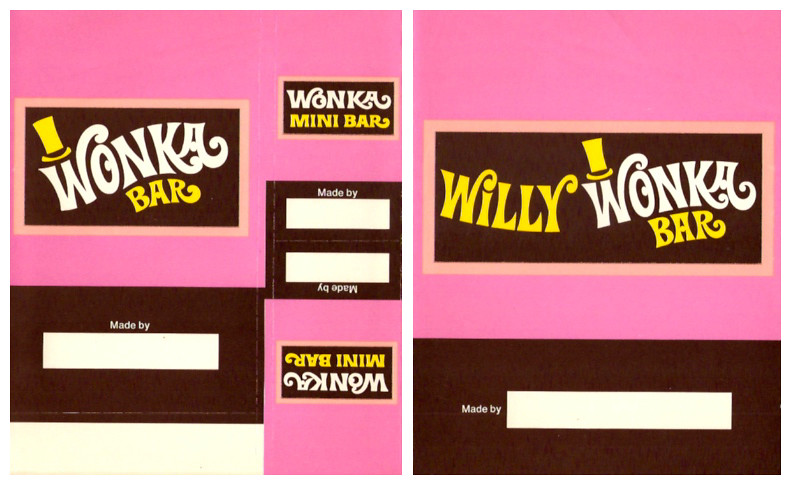 Wonka Bar Wrapper Printable Free Custom Wonka Bar Baby Shower
