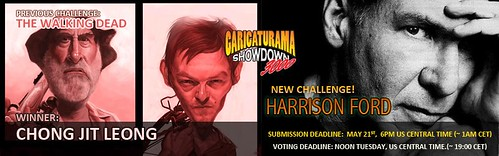 Winner banner for Caricaturama Showdown 3000 - The Walking Dead