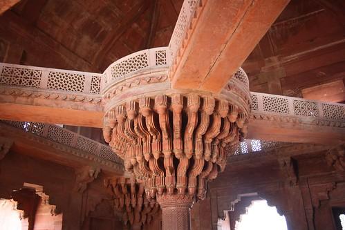 Fatehpur Sikri Akbar's throne