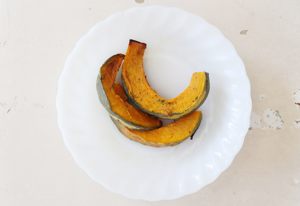 roasted kabocha squash 1