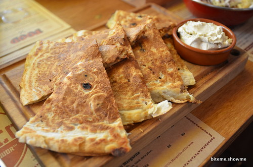 Mexico Food & Liquor - Roasted Eggplant Quesadilla