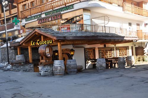 Restaurante Le Caveau - Verbier