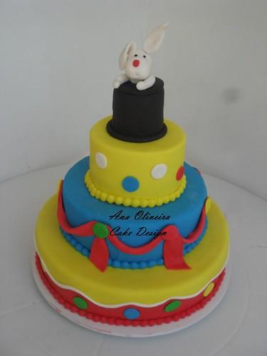 Bolo palhaço by Ana Oliveira Cake Design