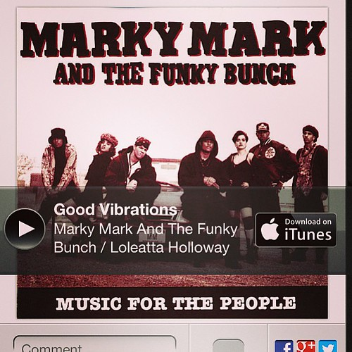 Oh marky mark.  #kickinitoldschool