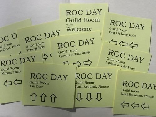 Roc Day signs