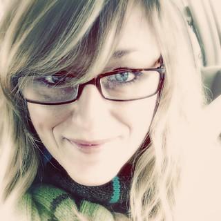 Feeling very Teri Garr circa Tootsie in my new glasses.
