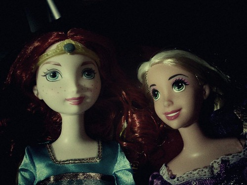 Princesas y residentes en Disneylandia